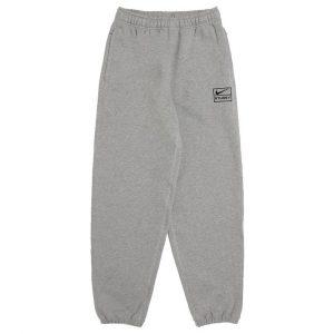 Stussy x Nike Grey sweat pants