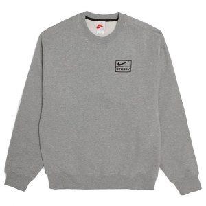 Stussy x Nike Grey sweater