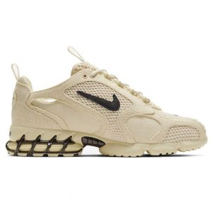 Stussy x Nike Stüssy x Nike Zoom Spiridon Cage 2 White 3