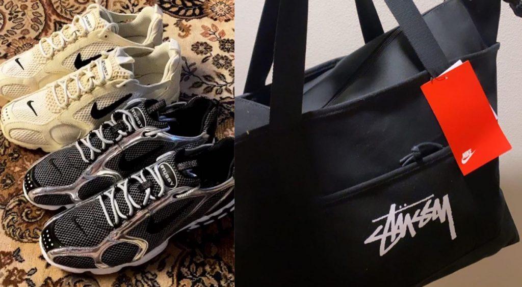 Stussy x Nike bag and sneaker