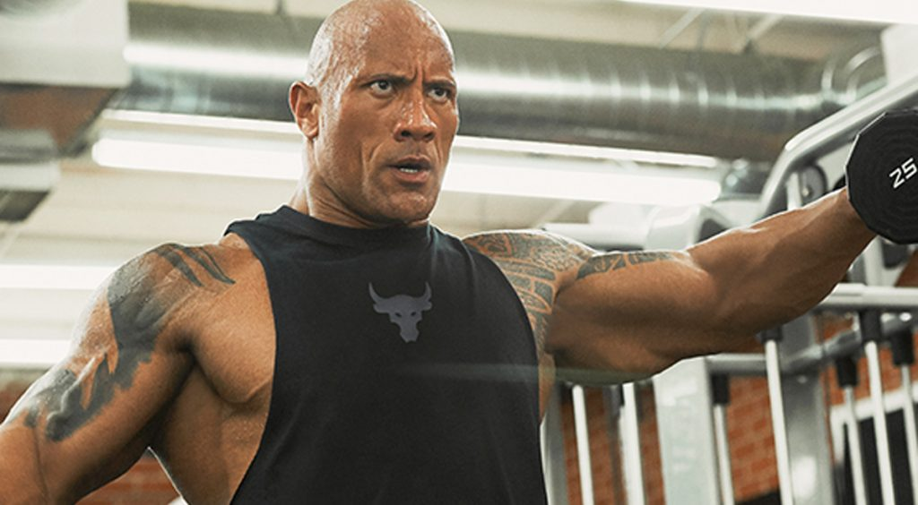 The Rock x Under Armour tank top