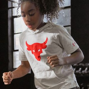 The Rock x Under Armour youth girl