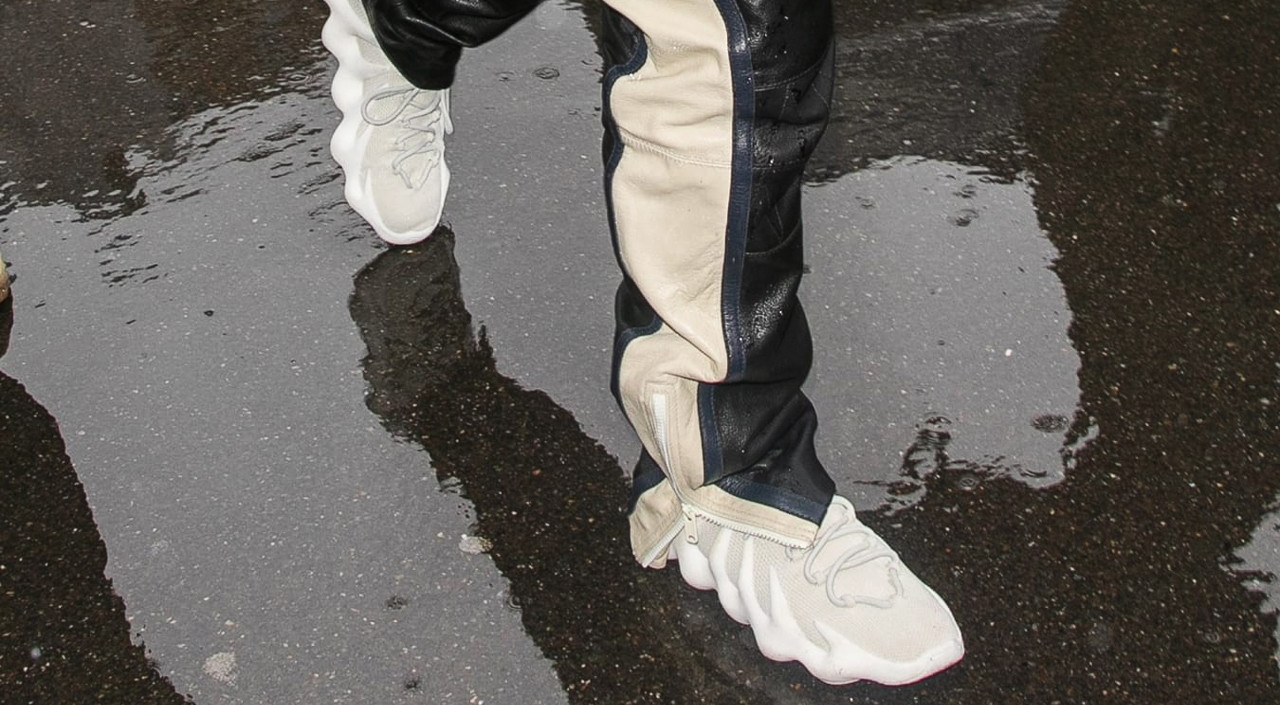 Yeezy 451 on feet