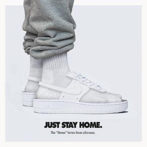 quarantine ready sneakers @krxone Air Force 1