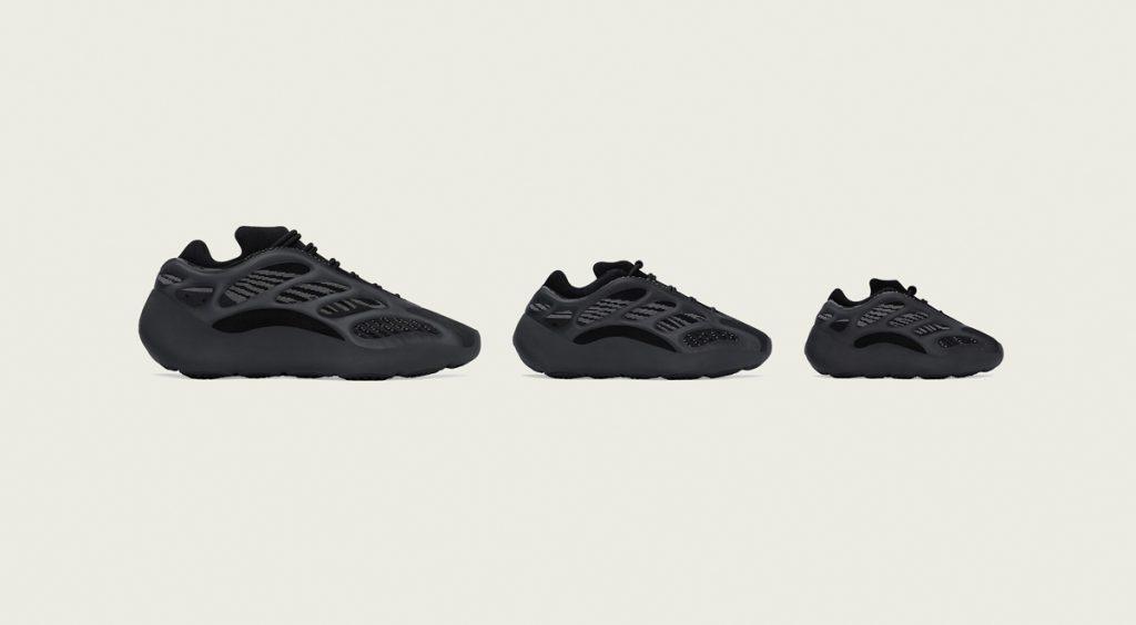 "Adidas Yeezy 700 V3 ""Alvah"" three sizes"