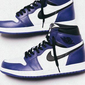 "Air Jordan 1 ""Court Purple"" feature"