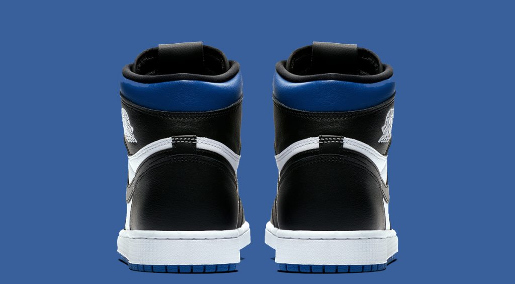 "Air Jordan 1 ""Game Royal"" heel cap"