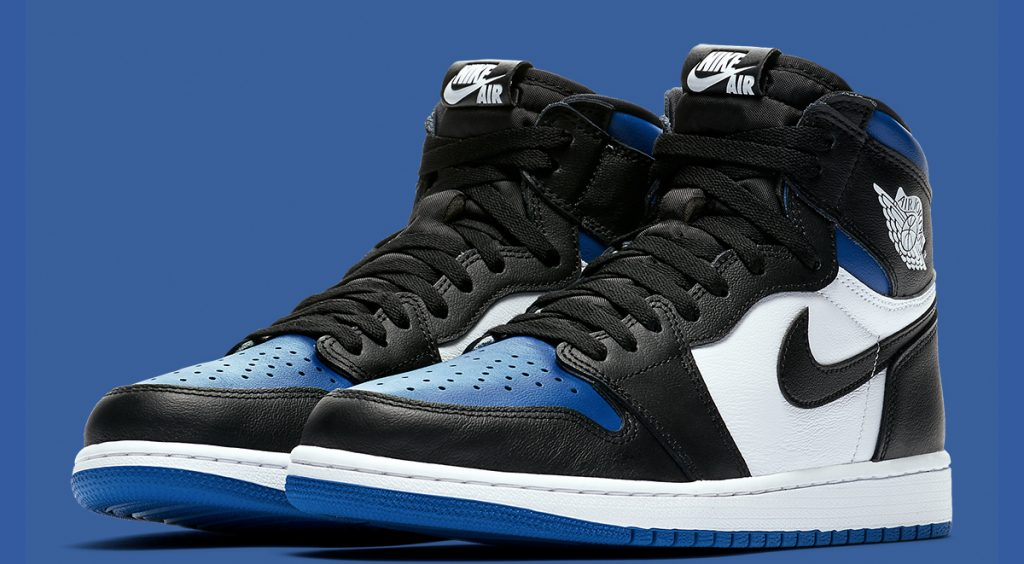 "Air Jordan 1 ""Game Royal"" side view"