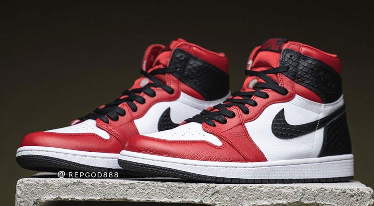 """Air Jordan 1 """"Satin Snake"""" feature"""