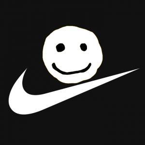 Cactus Plant Flea Market x Nike Dunk Lows logos