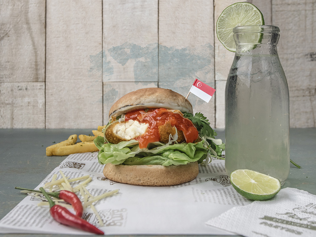 burger joints that offer islandwide delivery in Singapore veganburg