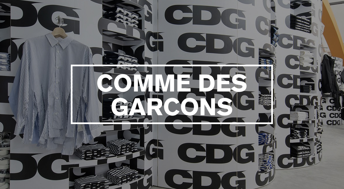 Japanese streetwear brands guide COMME DES GARCONS