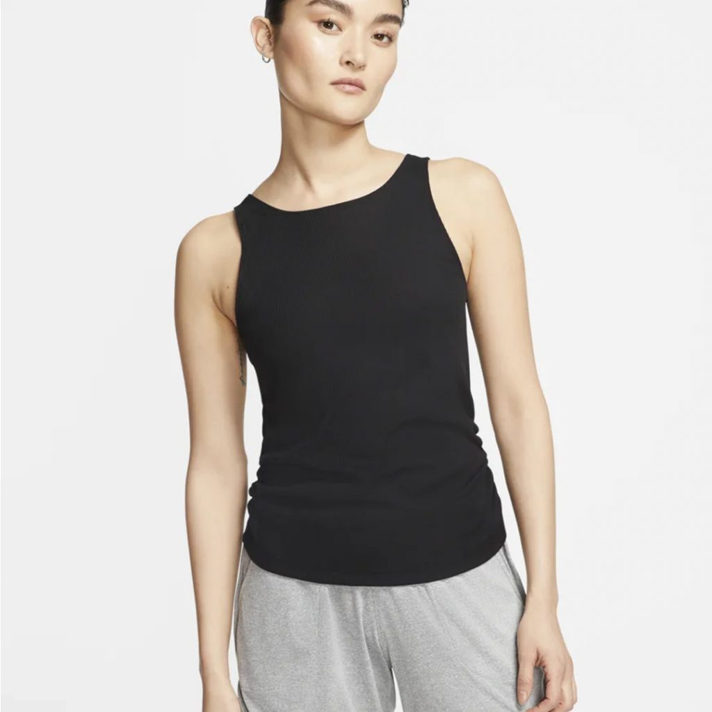 Mother's Day Gift Guide Nike Yoga Ruched Tank