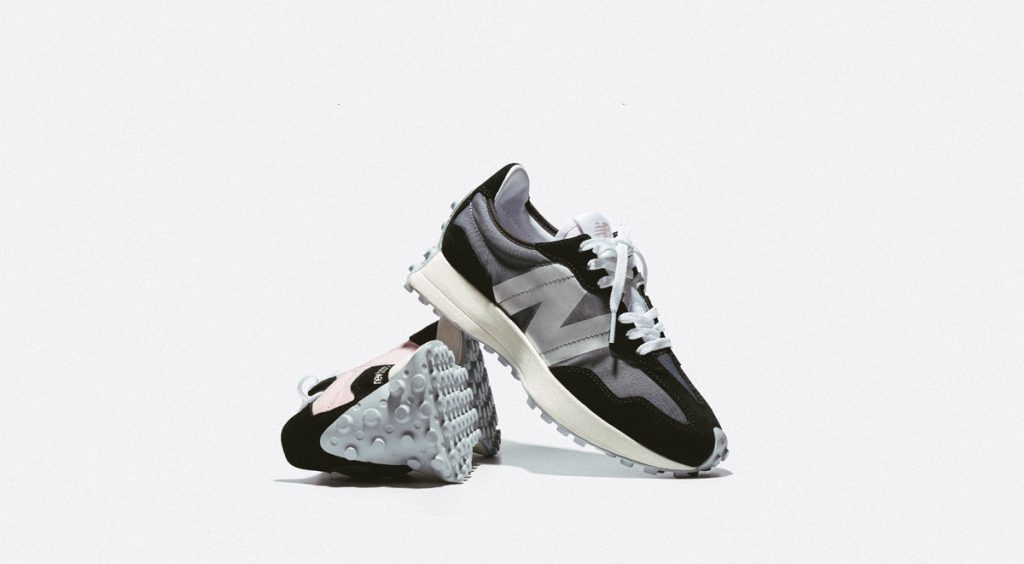 New Balance 327 black and pink official