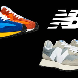 New Balance 327 two colorways