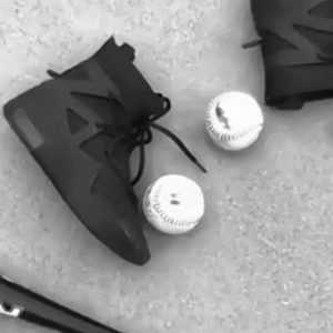 "Nike Air Fear of God 1 ""Off Noir"" Instagram 2"