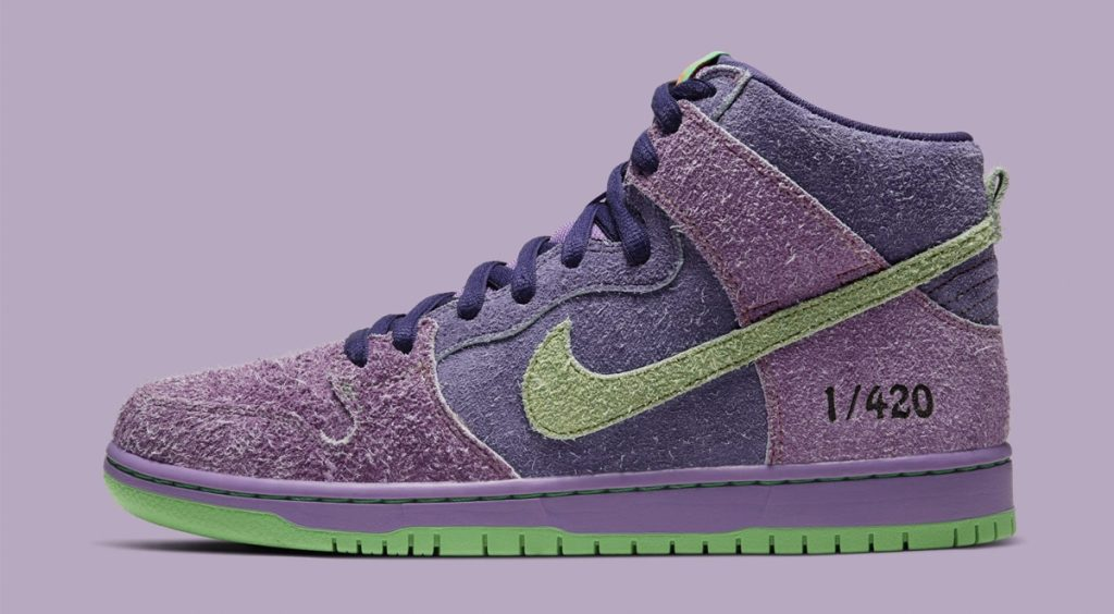 "Nike SB Dunk ""420"" side view"