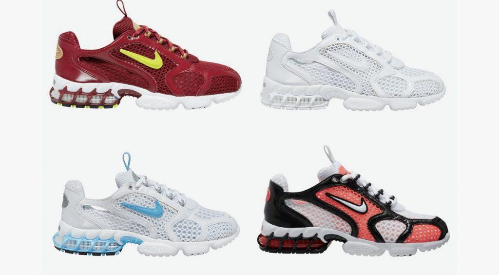 Nike Zoom Spiridon Caged 2 four colorways
