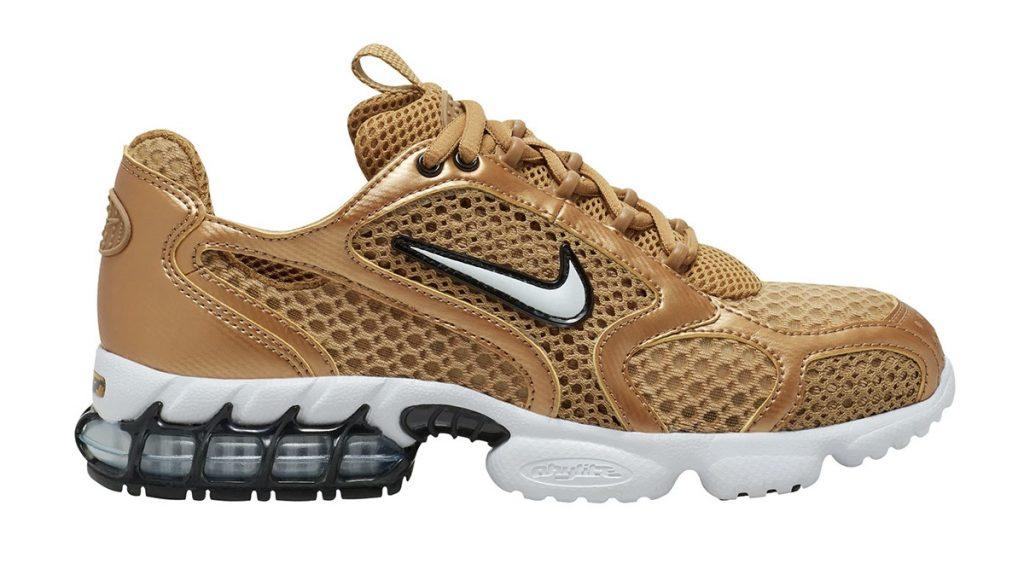 Nike Zoom Spiridon Caged 2 gold