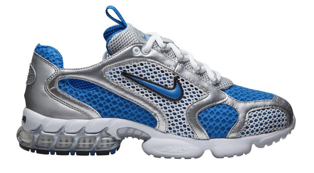 Nike Zoom Spiridon Caged 2 silver blue