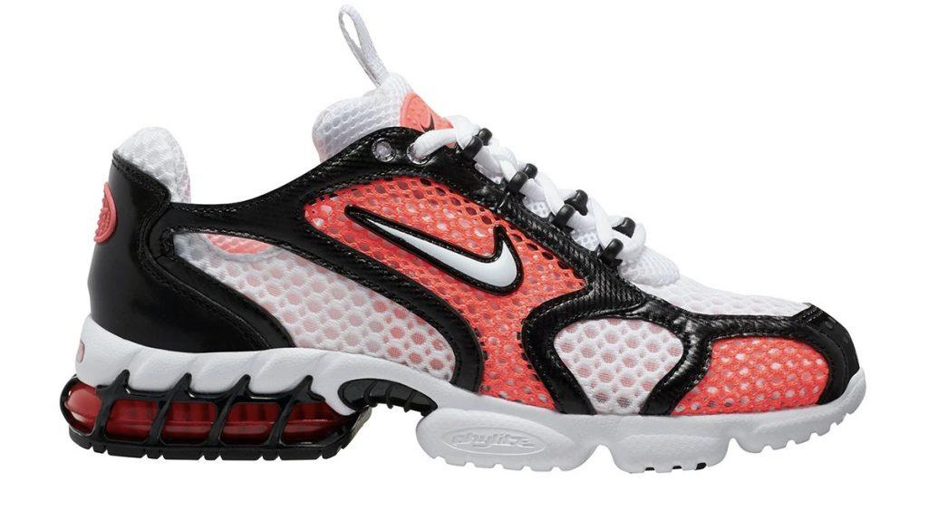 Nike Zoom Spiridon Caged 2 white infrared black