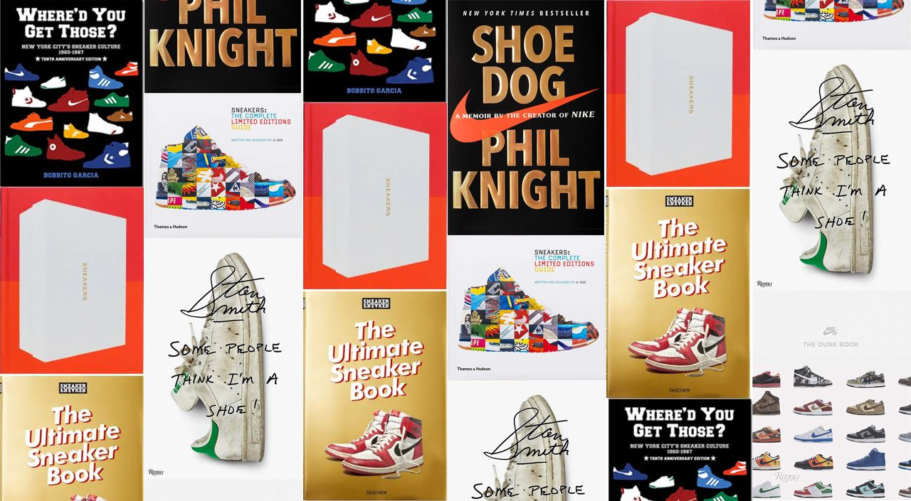 Sneaker Books cover feature
