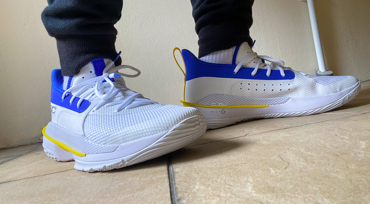 """Under Armour Curry 7 """"Dub Nation 2"""" feature"""