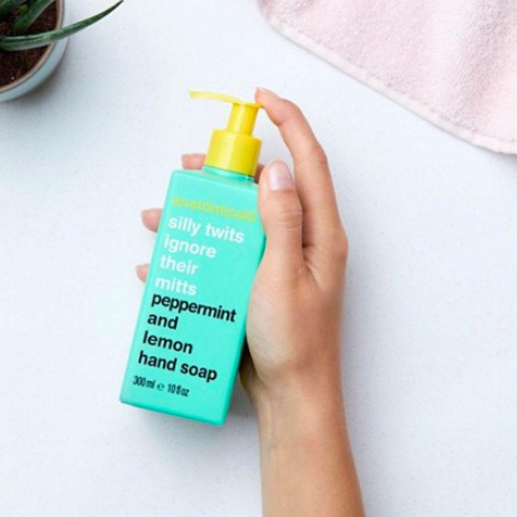 Anatomicals Silly Twits Ignore Their Mitts - Peppermint & Lemon Hand Soap 300ml