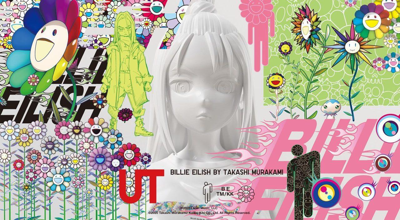 Billie Eilish x Takashi Murakami feature