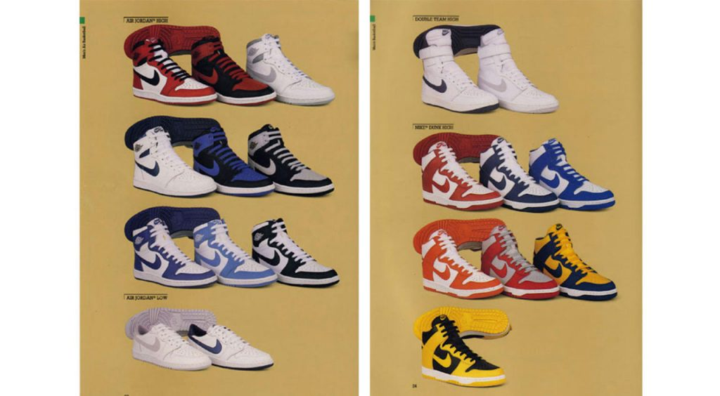 History of the Nike Dunk college teams be true to your school