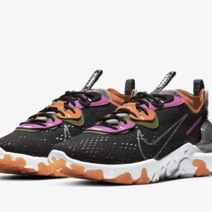 Nike React Vision black multi color