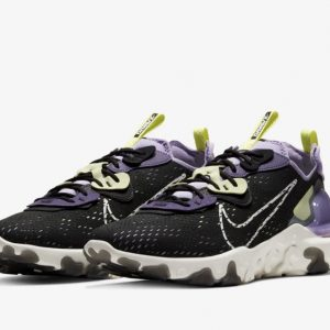 Nike React Vision black purple