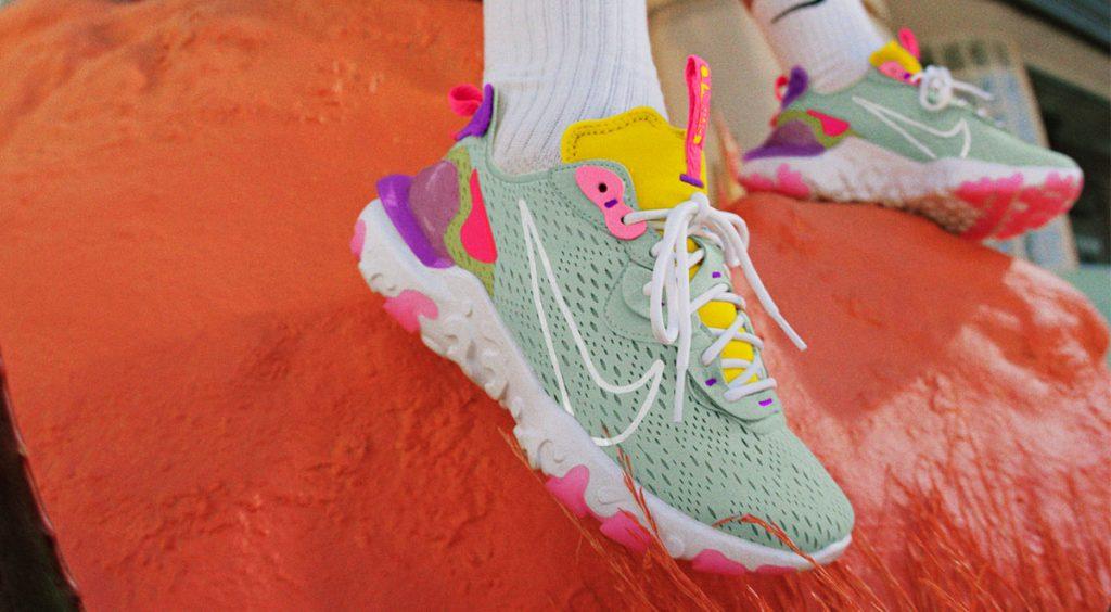 Nike React Vision on feet