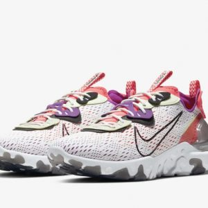 Nike React Vision white purple