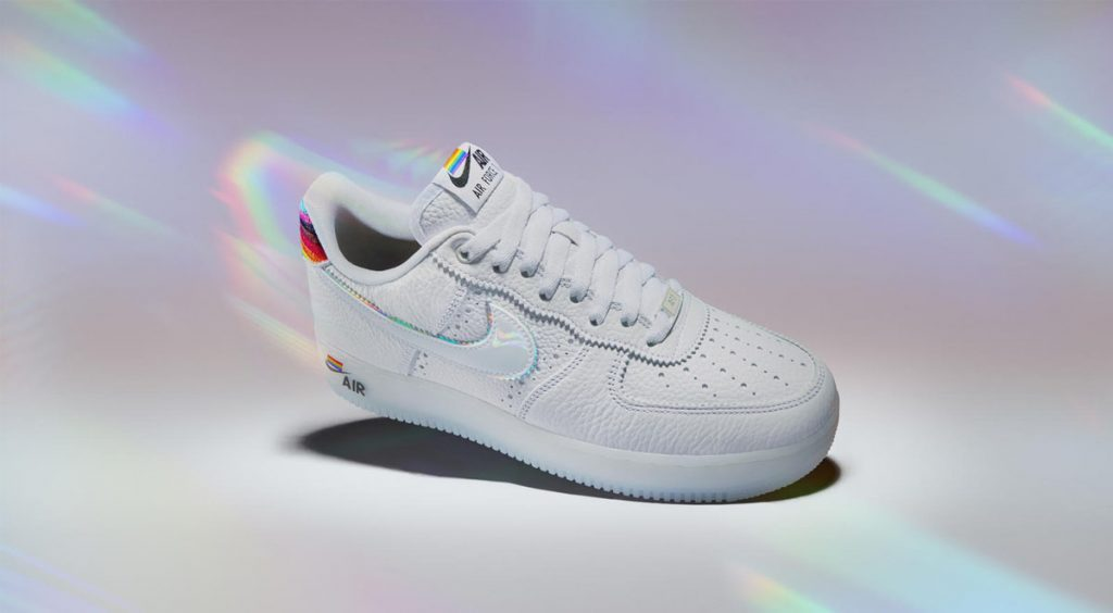 Nike and Converse Pride collection Nike Air Force 1