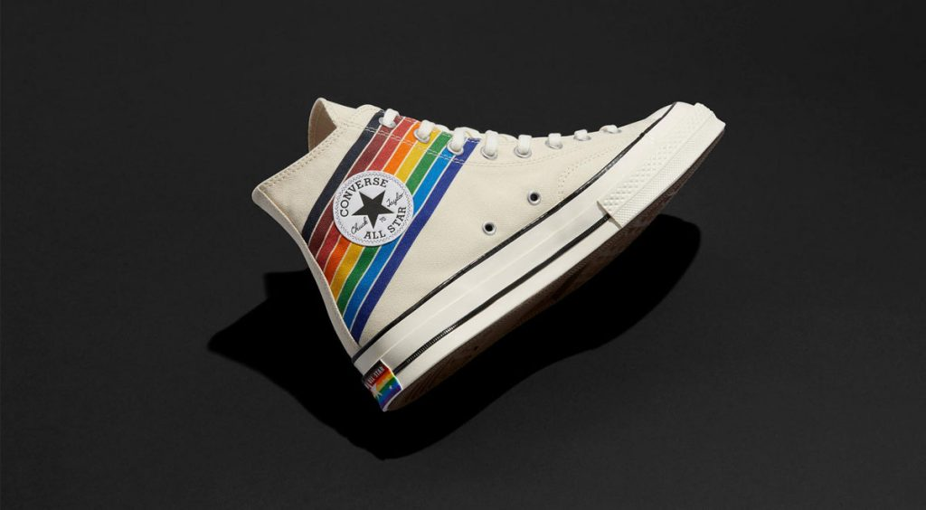 Nike and Converse Pride collection converse chuck 70 black