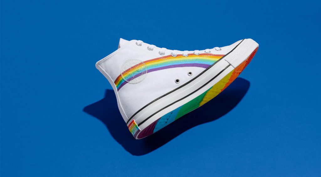 Nike and Converse Pride collection converse chuck 70 blue