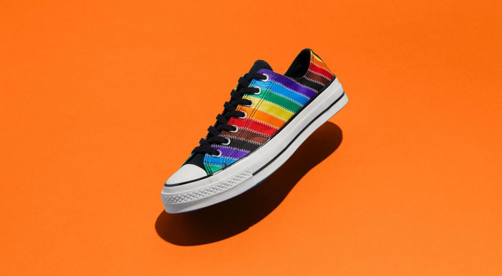 Nike and Converse Pride collection converse chuck 70 low orange