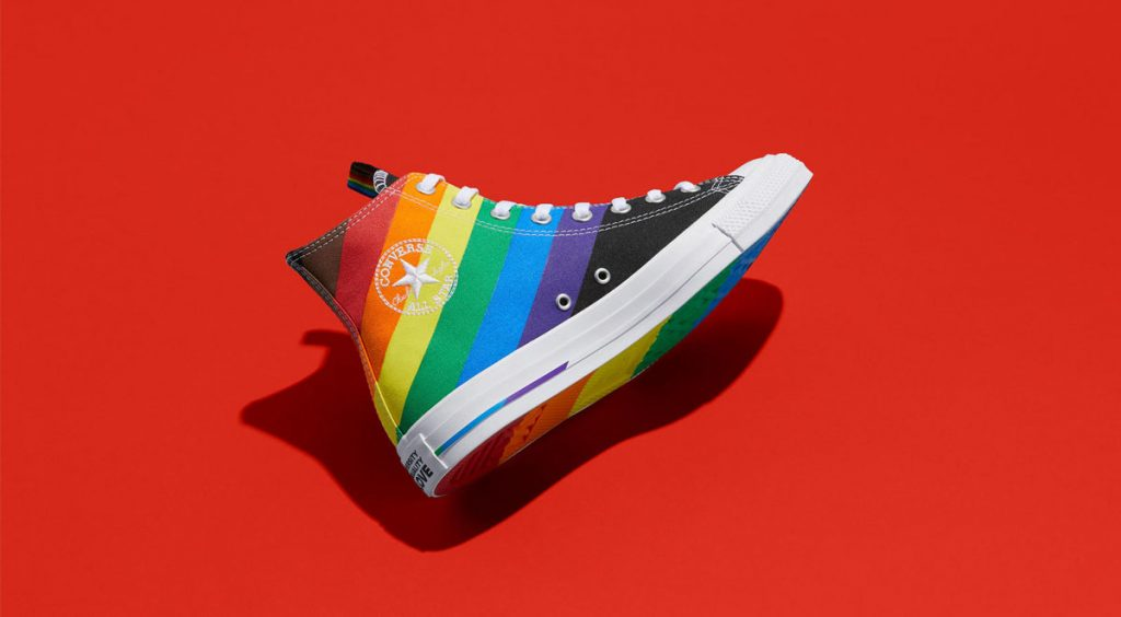 Nike and Converse Pride collection converse chuck 70 low red