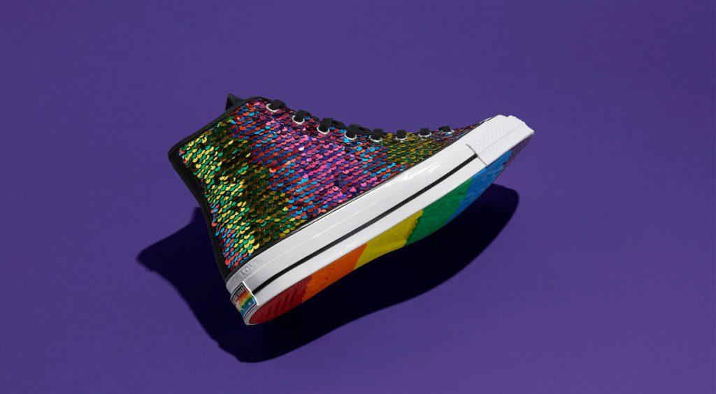 Nike and Converse Pride collection converse chuck 70 purple