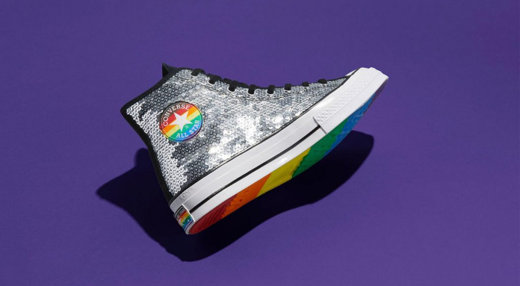 Nike and Converse Pride collection converse chuck 70 purple 2