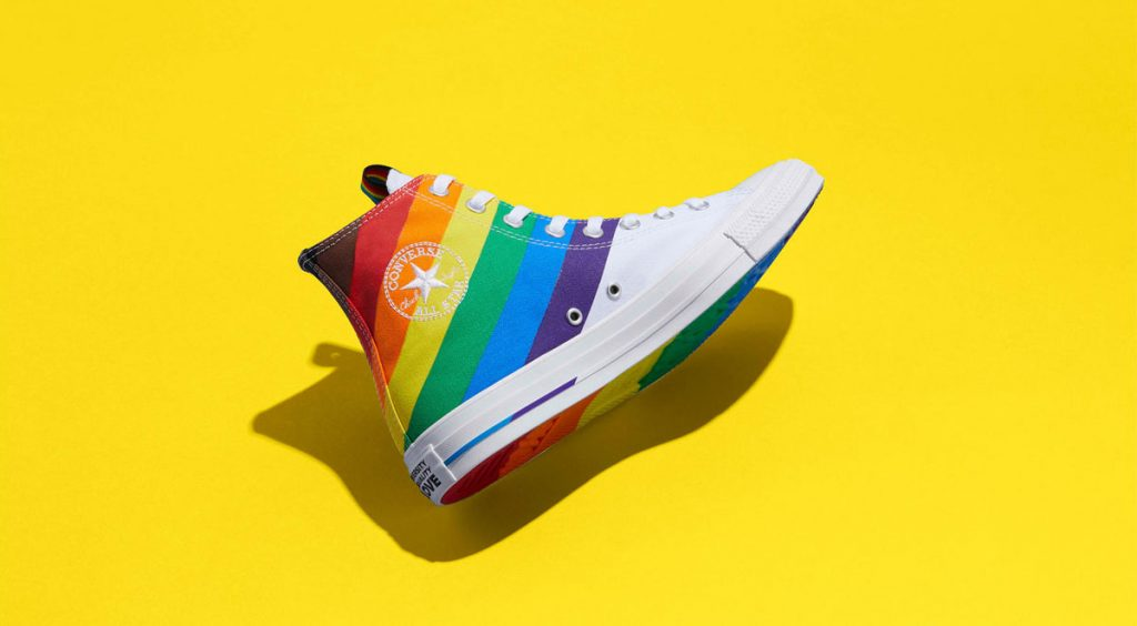 Nike and Converse Pride collection converse chuck 70 yellow
