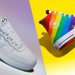 Nike and Converse Pride collection feature