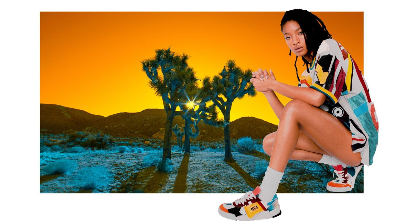Onitsuka Tiger and Willow Smith feature