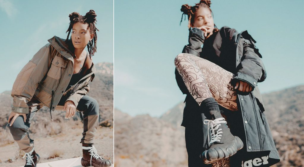 Onitsuka Tiger and Willow Smith photoshoot