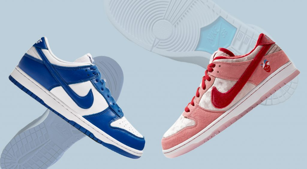 SB Dunk Sizing and Styling outsole