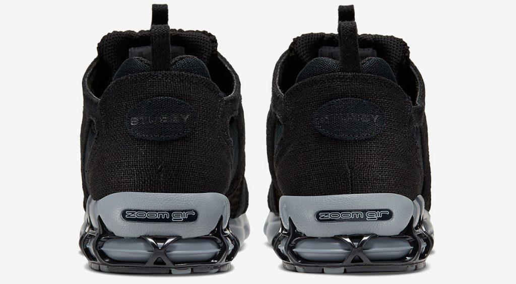 Stussy x Nike Zoom Spiridon Caged 2 heel