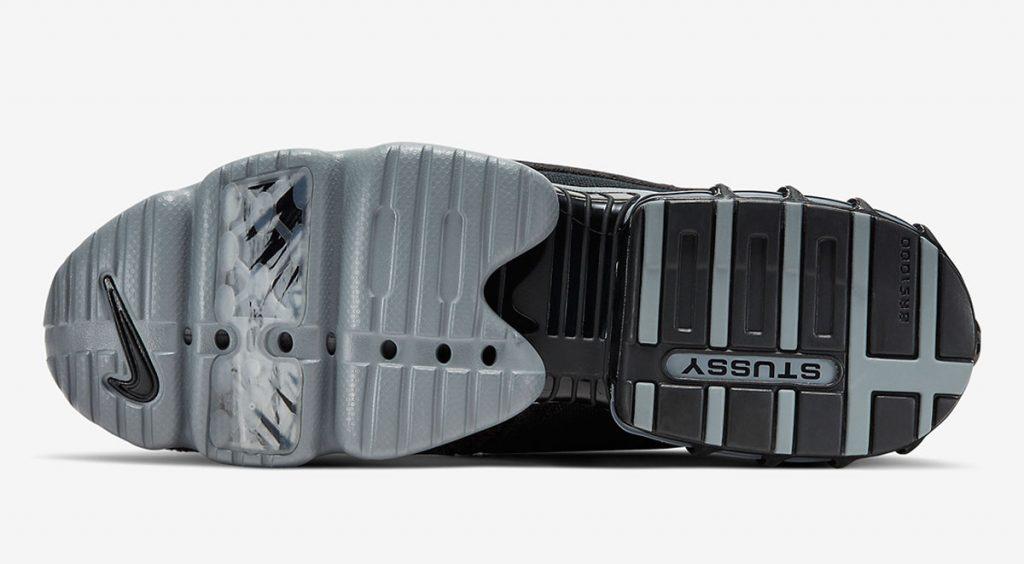 Stussy x Nike Zoom Spiridon Caged 2 outsole