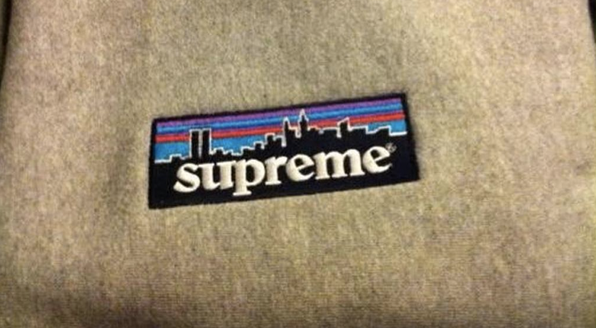Supreme box logo patagonia tee 1998 history most valuable designs