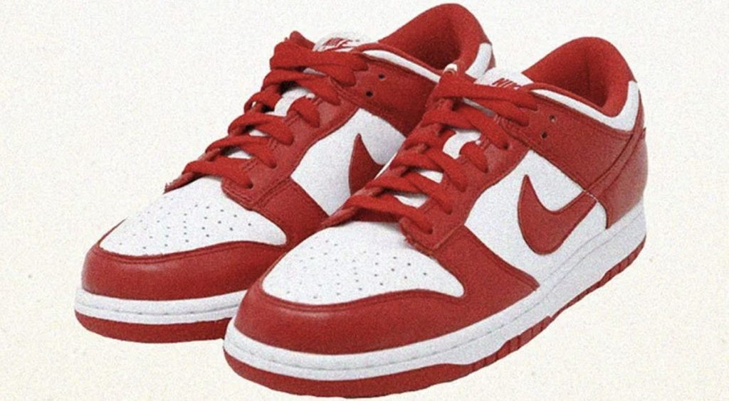 """Upcoming Nike Dunks Releases Slam Nike Dunk Low SP """"University Red"""""""